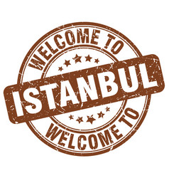 Welcome to istanbul vector