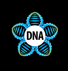 logo dna vector image
