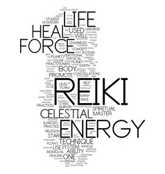 Message from the heavens celestial reiki text vector