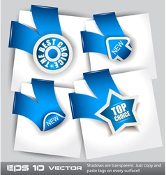 Top choice icons vector