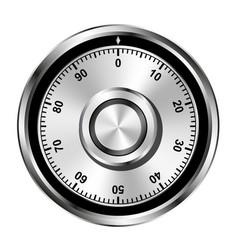 combination locker vector image