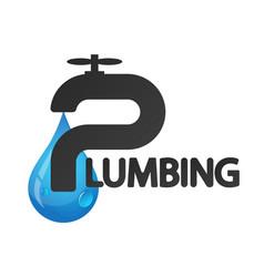 Plumbing repairs and maintenance vector