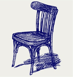 Chair classic vector