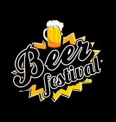Beer festival october drink alcohol brewery party vector