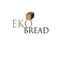 Symbol black bread vector