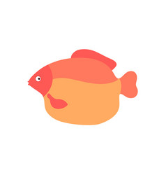 Aquarium fish cartoon vector
