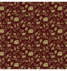 burgundy pattern vector image vector image