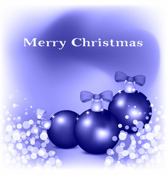 card of merry christmas vector image vector image
