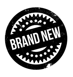 Brand new rubber stamp vector