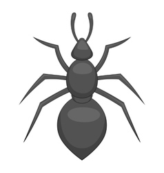 Ant icon cartoon style vector