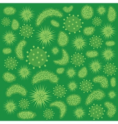green virus vector image