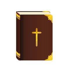 Holy bible christianity symbol vector