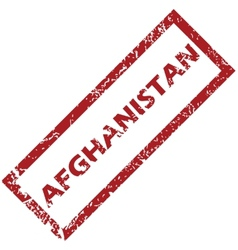 New afghanistan rubber stamp vector