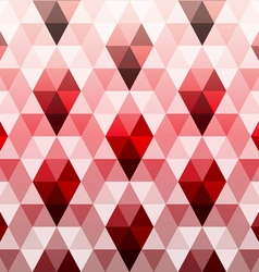 Triangle polygon seamless pattern vector