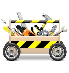 Mobile Toolbox vector image