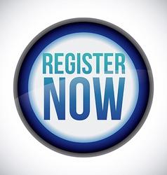 register button design vector image