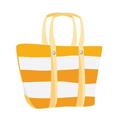 Beach bag vector