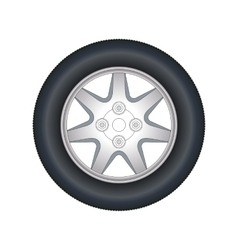 Automobile wheel vector