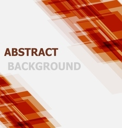 Abstract orange geometric overlapping background vector