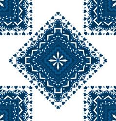Blue pattern vector