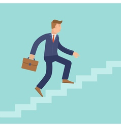 Career concept in flat style vector