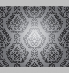 decorative wallpaper design vector image