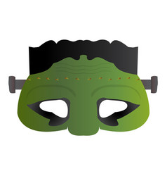 isolated undead mask vector image