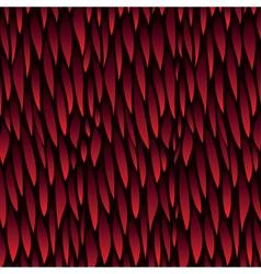 leaf red pattern background vector image