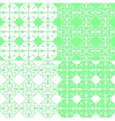 Linear indian lotus pattern vector