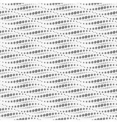 Wavy repeating dots pattern seamless vector