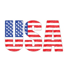 usa3 vector image