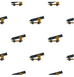 Cannon pattern seamless vector