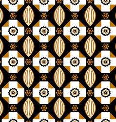 Patterned geometric lisbon vector