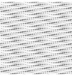 Wavy repeating dots pattern seamless vector
