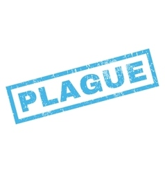 Plague rubber stamp vector