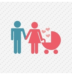 Family members design vector