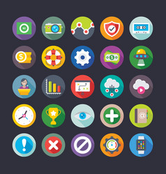Business and office icons 11 vector