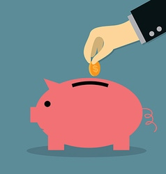 Saving Money vector image