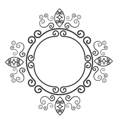 Victorian ornament graphic design vector image vector image