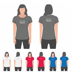 Women t-shirt design template vector