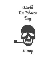 World no tobacco day vector