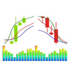 commodity forex trading vector image