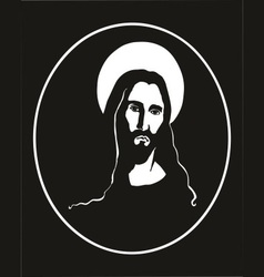 Jesus portrait vector