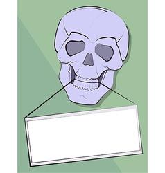 skullframe vector image