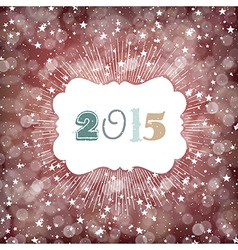 2015 year card design vector image vector image