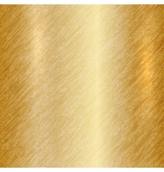 abstract metallic gold background vector image