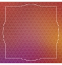 Abstract background with triangles and vintage vector