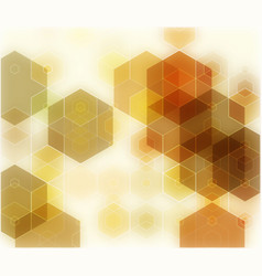 geometric abstract brown backgrounds with vector image vector image