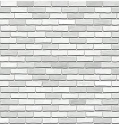 White brick seamless texture vector