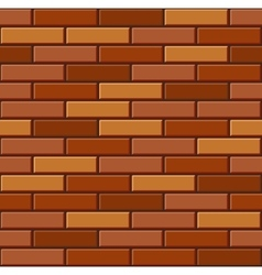 Seamless old brick wall pattern vector